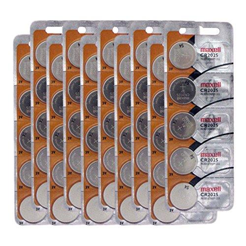 CR2025 3V Micro Lithium coin Cell Battery Maxell Original