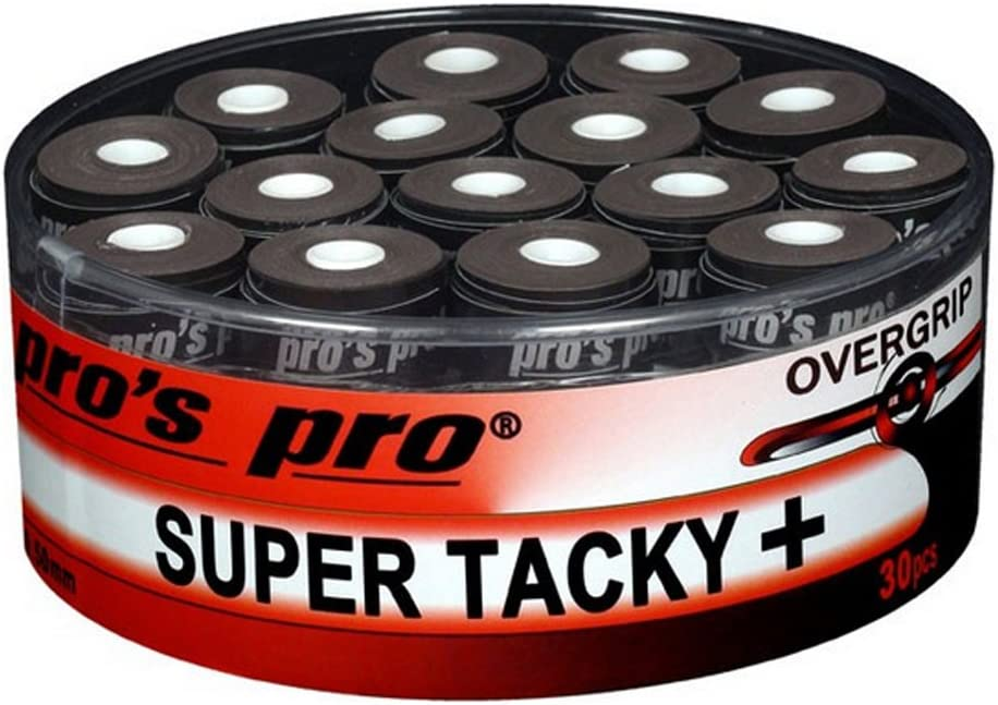 30 Overgrip Super Tacky Tape negro tenis grips Cinta para mango de ...