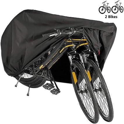 BICASLOVE Funda Bicicleta, Nylón 190T Anti Polvo Resistente al ...