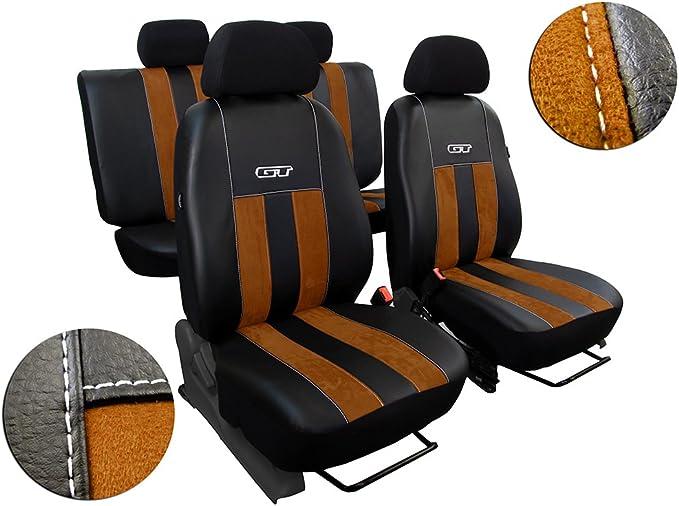 Maßgefertigtes Autositzbezugset Ranger Iii Ab 2012 Design Gt Alkantra Braun Auto