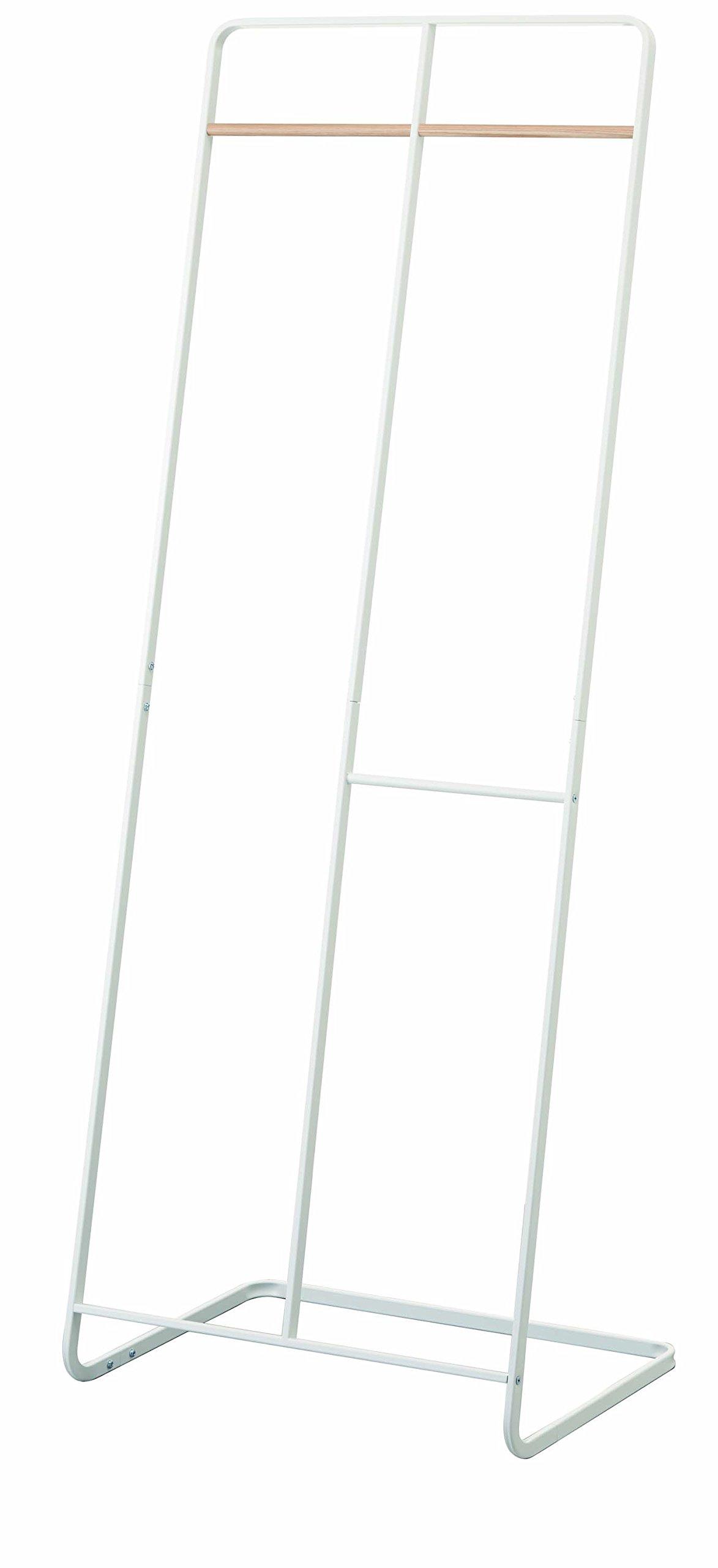YAMAZAKI home Tower 2-Level Coat Rack, White