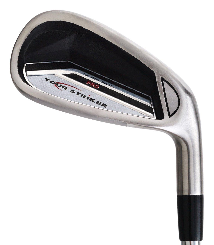 Tour Striker (2014 NEW VERSION) Golf Club Swing Trainer (7-Iron, left) by Tour Striker Inc