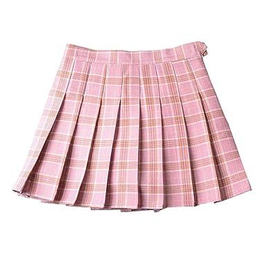 E-Girl E8710 - Falda Plisada para Mujer Rosa L=40: Amazon.es: Ropa ...