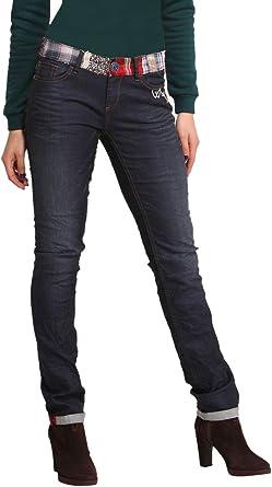 Desigual Mujer Disenador Top Jeans Pantalones Linda Amazon Es Ropa Y Accesorios