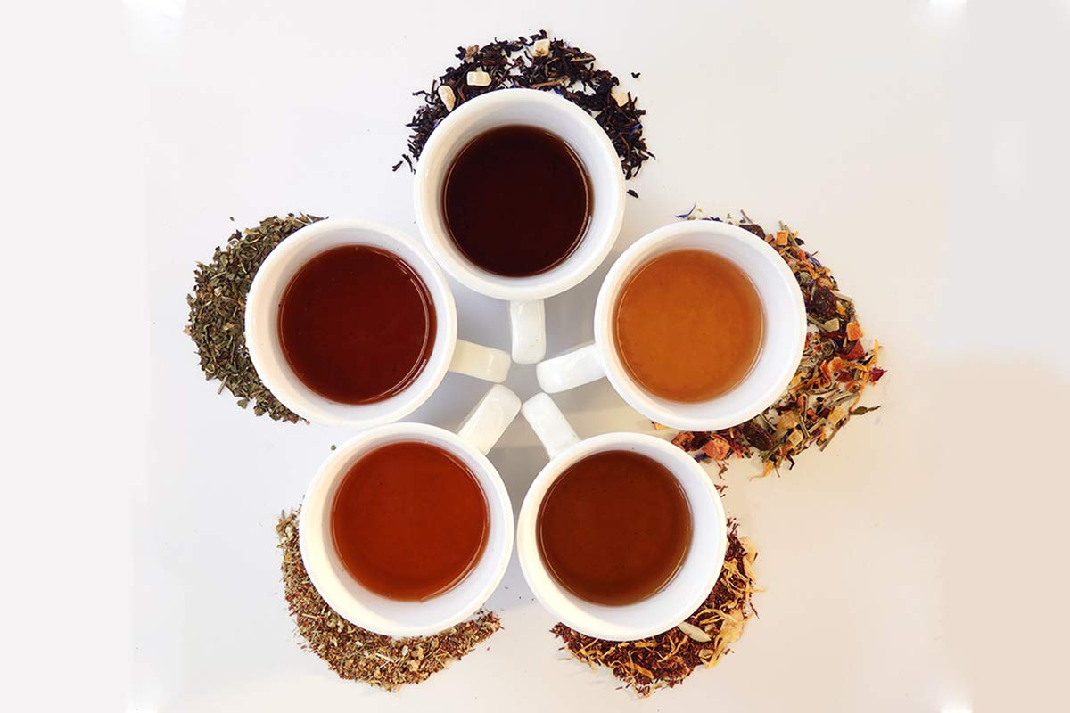 Adventure Edition - (6) Month Tea of the Month Club Subscription Box - Assorted Loose Leaf Teas - Tea Lover Gift Sampler Box