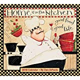 Home Is in the Kitchen 2018 Deluxe Wall Calendar