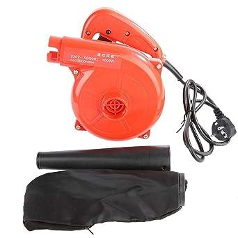 Soplador de aire eléctrico, soplador de aire eléctrico de mano 1000W Pequeña succión Polvo doméstico industrial Herramienta de polvo de alta potencia ...