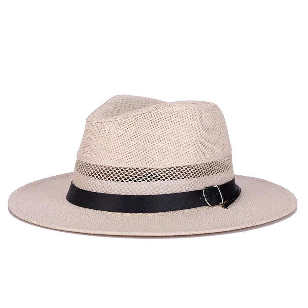 Zerci Wemens Mens Jazz Hat Sun Hat Straw Hat Fedora Hat