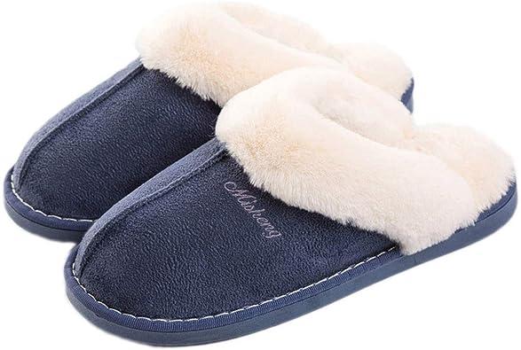 Women Winter Warm Ful Slippers Cotton