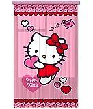 Diseño AG FCS L 7513 cortina, cortina, ropa, cortinas Photo Print Hello Kitty, 140 x 245 cm, 1 pieza