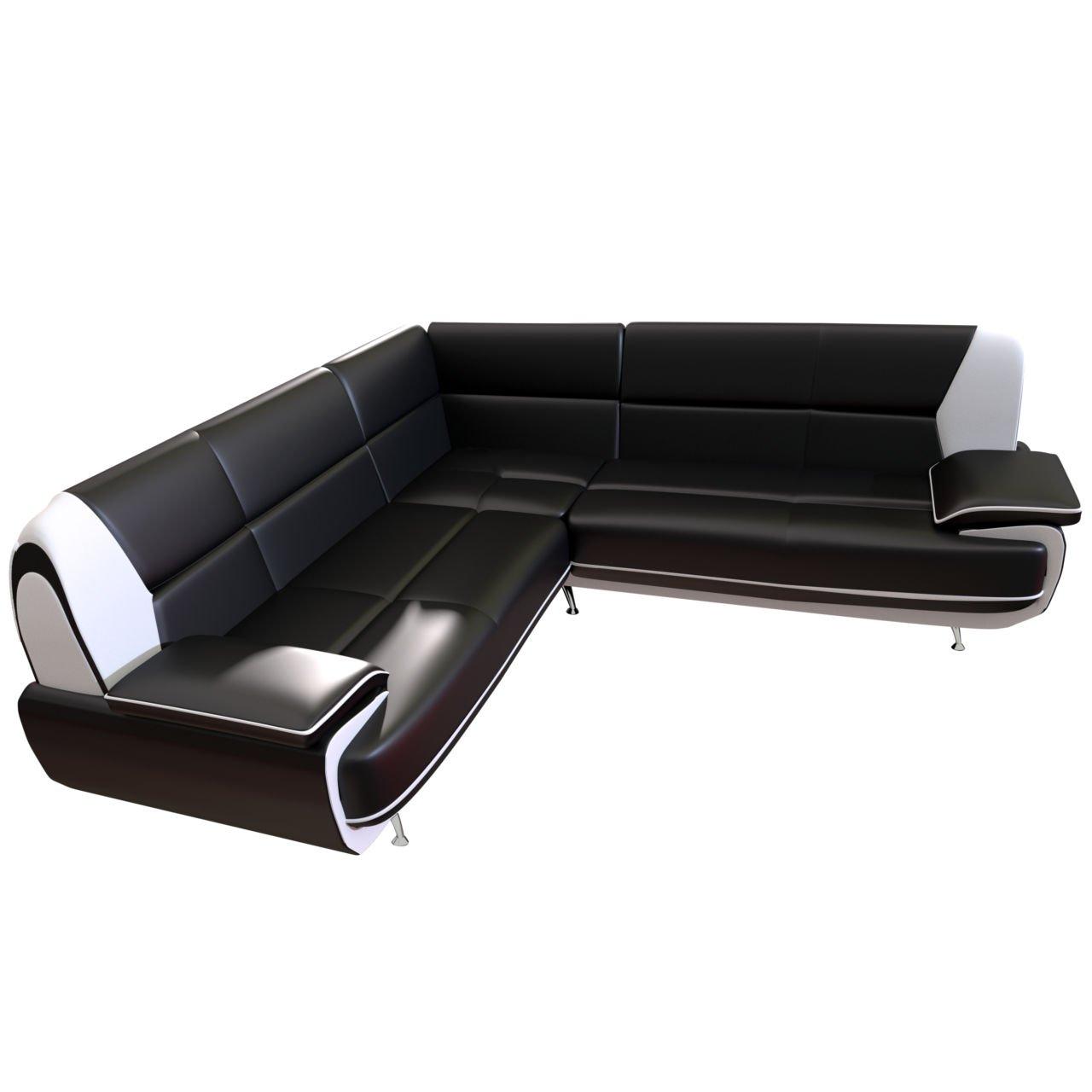 Design Ecksofa Palermo Maxi Couchgarnitur Freistehendes