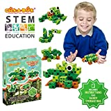 Click-A-Brick Rainforest Rascals 30pc Building Blocks Set | Best STEM Toys for Boys & Girls Age 4 5 6 Year Old | Fun Kids 3D Construction Puzzle | Top Educational Learning Gift For Children Ages 4-10