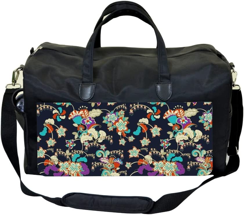 Classic Flower Pattern 2 Sports Bag