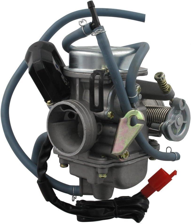Xfight-Parts Vergaser 24 mm komplett 222 CVK HL IC PD24J 4Takt 125 ccm China Roller China Roller