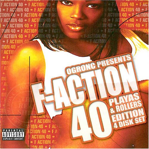 F-Action 40 Playas & Rollers Edition - 4 Disc Set by Bcd Music Group