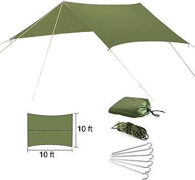 Tienda de campaña para hamaca, lluvia volar, refugio parasol ...