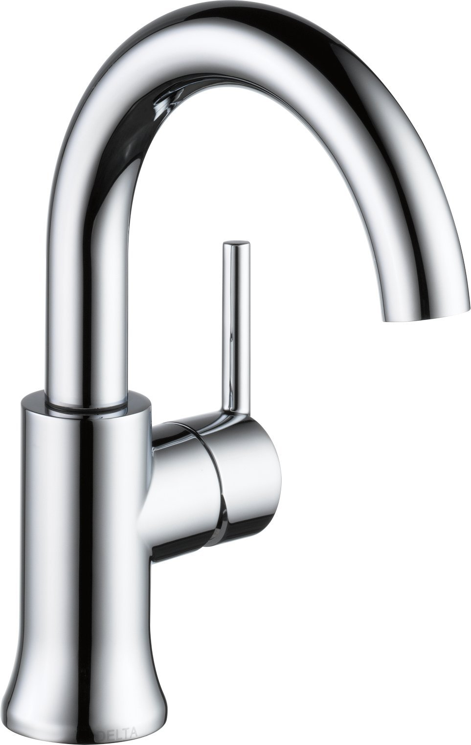 Delta Faucet 559HA-DST Trinsic, Single Handle High-Arc Bathroom, Chrome