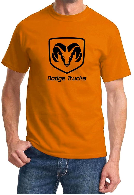 Chic Dodge Ram Truck Logo Classic Outline Design Tshirt