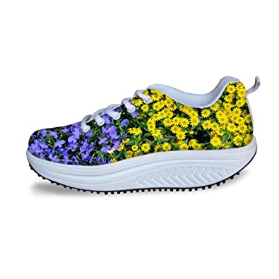 FancyDesign Damen Schuhe Schütteln Muskelaufbauende