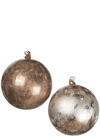 Image Unavailable - Amazon.com: Sullivans Metallic Ball With Mercury Glass Finish