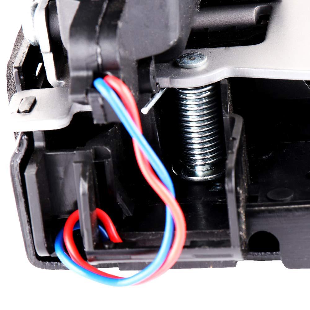 SCITOO 2PCS Power Door Lock Actuators Rear Left Front Left Door Latch Replacement Fits for 1999-2012 Volkswagen 931-500 3B1837015AJ 3B4839015A