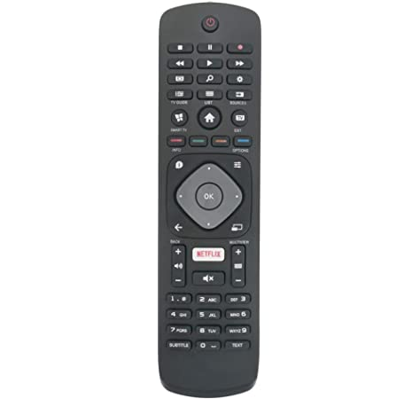 ALLIMITY 996596003606 Reemplazo de Control Remoto para Philips 4K UHD HDR TV 32PFS5362 43PFS5301 32PFS5803 43PFS5302 43PUH6101 43PFT5302 43PUS6101 43PUS6162 43PUS6201 43PUS6262 43PUT6101 49PFS5301: Amazon.es: Electrónica