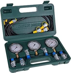 Excavator Testing Hose Coupling and Gauge ZKS-KS Hydraulic Pressure Test Kit