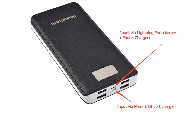 Amazon.com: Cargador portátil de batería de 500 mAh con ...