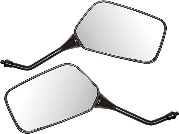 Ryde Universal Spiegel Für Motorrad Roller Schwarz 8 Mm Auto