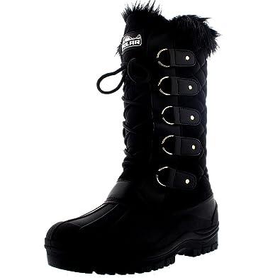 670c8b05e1a Polar Womens Waterproof Tactical Mountain Walking Snow Knee Boots