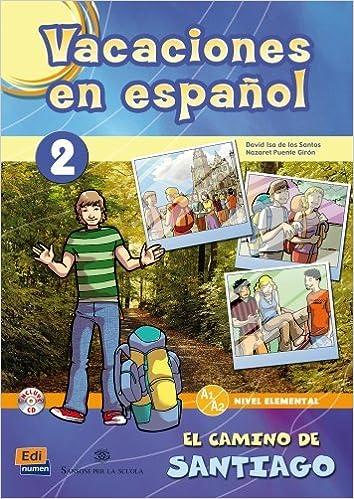 Book Vacaciones En Espanol 2: Book + CD (Material Complementario) by Team Edinumen (2009-03-19)