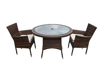 Marvelous Rattan Garden Dining Set Cambridge 2 Seater Indoor Outdoor Beutiful Home Inspiration Aditmahrainfo