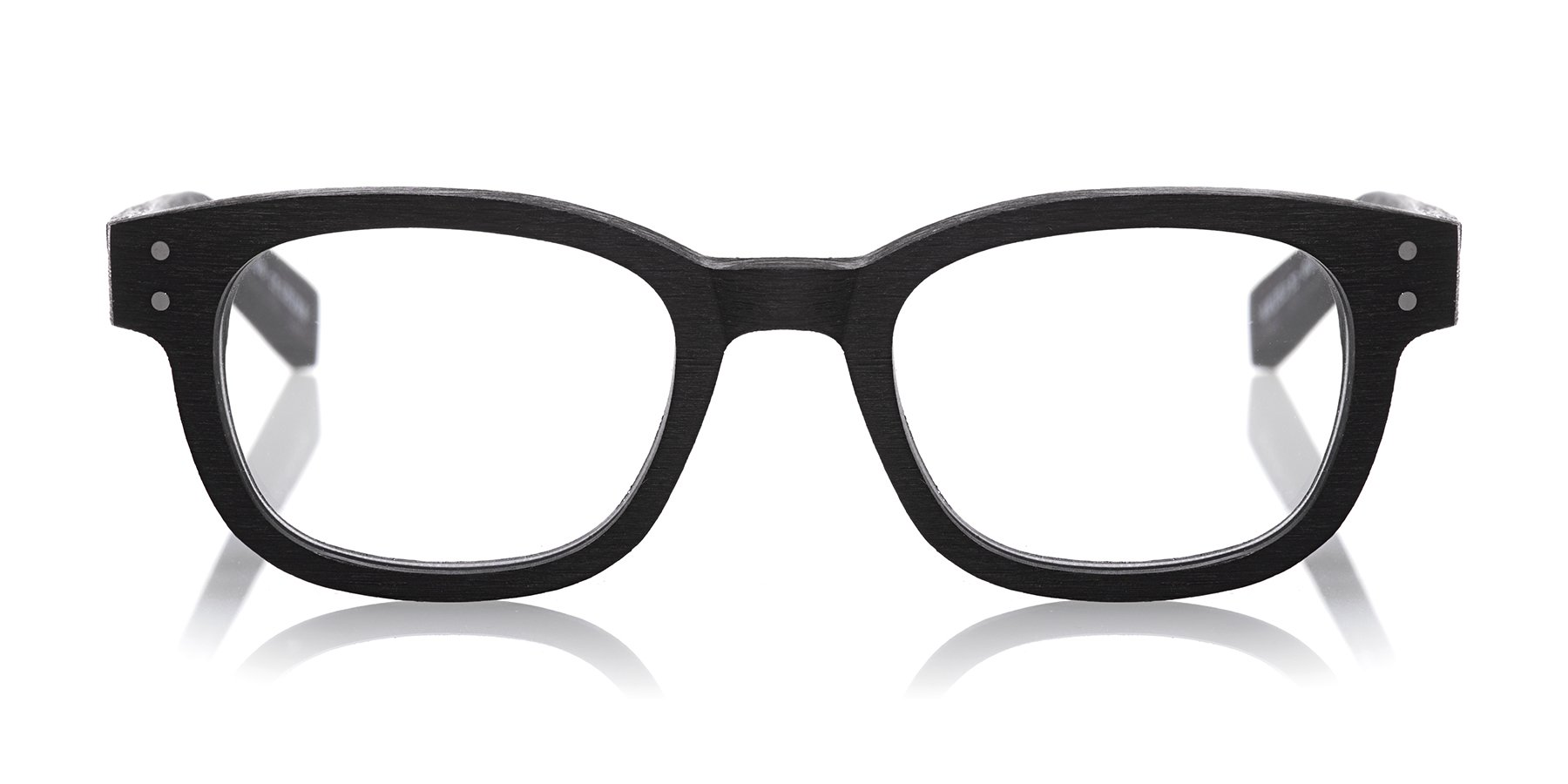 eyebobs Butch All Day Reader, Black with a matte woodgrain finish, Reading Glasses SUPERIOR QUALITY-because your eyes deserve the good stuff