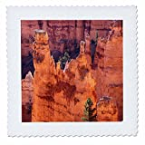 3dRose Danita Delimont - Utah - Utah, Bryce Canyon National Park, Bryce Canyon and Hoodoos - 22x22 inch quilt square (qs_260218_9)
