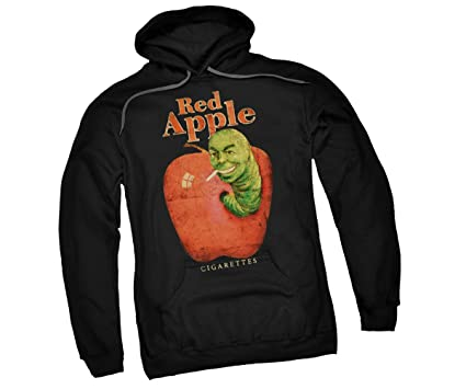 f248c1002 Amazon.com: Pulp Fiction Red Apple Adult Hoodie Sweatshirt: Clothing