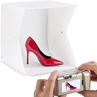 Caja de fotos Caja de luz LED Photo Box 60 para joyería y ...
