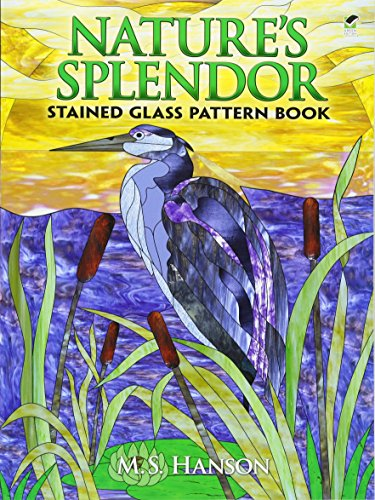 Nature's Splendor Stained Glass Pattern (Glass Painting Book)