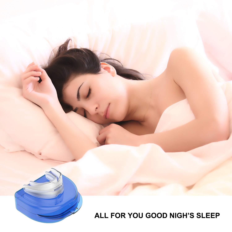 Dormire aiuti paradenti di Notte Bruxismo bocchino /russare Soluzione Cynthia Snore Stopper bocchino/