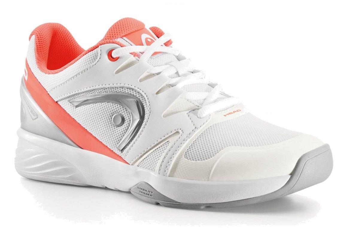 HEAD Damen Tennis Hallenschuh NITRO TEAM CARPET W W W weiß   coral 95b7dc