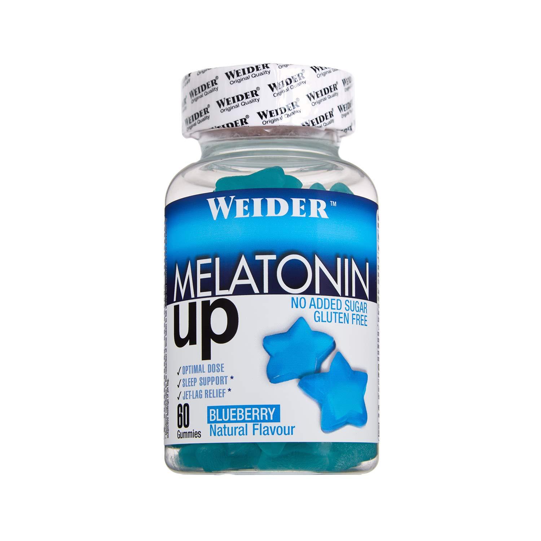 Melatonine Up. 60 gummies, Sabor Blueberry. 1 mg de melatonina por ...