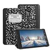 (US) Samsung Galaxy Tab A 7.0 Case - Leafbook Samsung Tablet Case Ultra PU Leather Stand Cover Case for Samsung Galaxy Tab A 7.0 Inch Tablet 2016 Release / SM-T280 / SM-T285, Composition Book