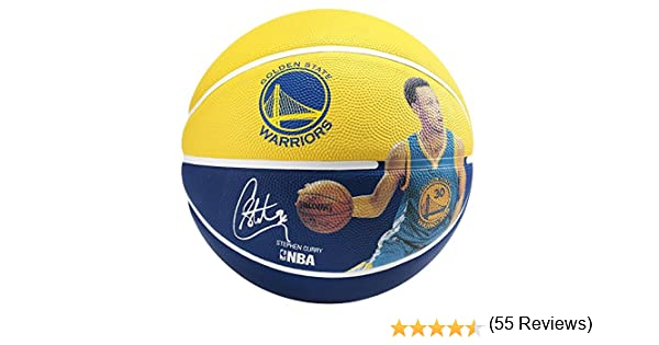 Spalding NBA Player Stephen Curry Sz.5 (83-400Z) Balón de ...