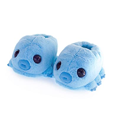 Hashtag Collectibles Water Bear (Tardigrade) Slippers Blue | Slippers