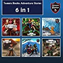 Tweens Books: Adventure Stories for Tweens, Teens, and Kids: Children's Adventure Stories, 6 in 1 Audiobook by Jeff Child Narrated by John H Fehskens