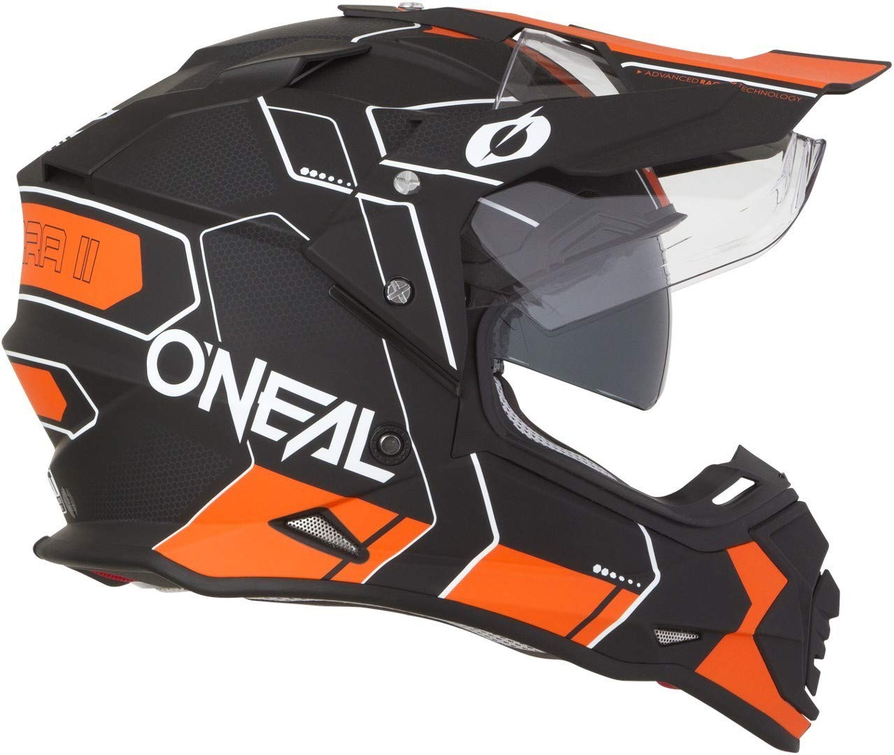 2019 ONeal Sierra II Helmet Combo Black//Orange