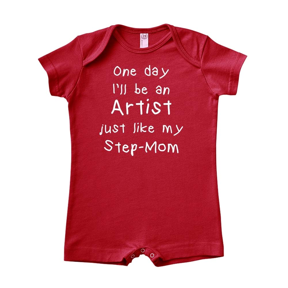 One Day Ill Be an Artist Just Like My Step-Mom Baby Romper