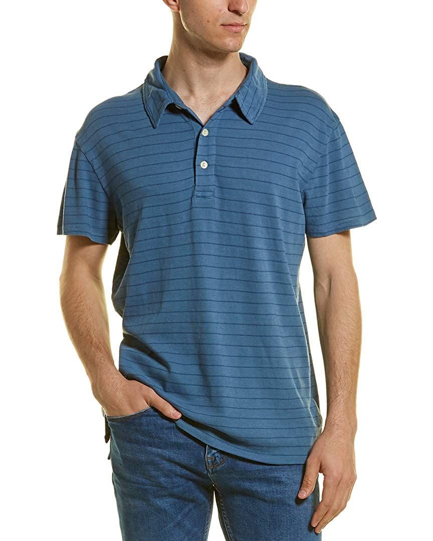 Blue Grayers Mens Catalina Stripe Polo S