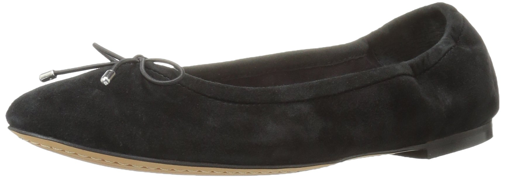 206 Collective Women's Madison Ballet Flat, Black, 7 C/D US