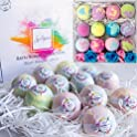 12 Pack RoseVale Bath Bomb Gift Set