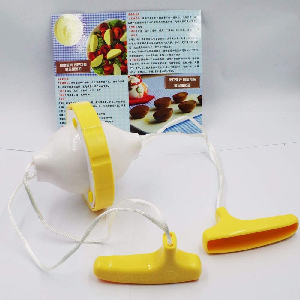 HONGXINYUAN Fabricant Doeufs Dor Oeuf Brouilleur Shaker Jaune Doeuf M/élangeur Blanc Aliment/é /à La Main Cuisine Outil de Cuisine